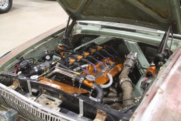 1962 Ford Falcon RB20 engine