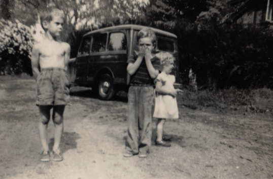 Kip and Jeep wagon