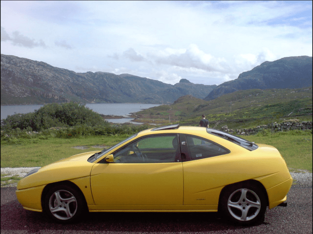 Fiat coupe 1998 side