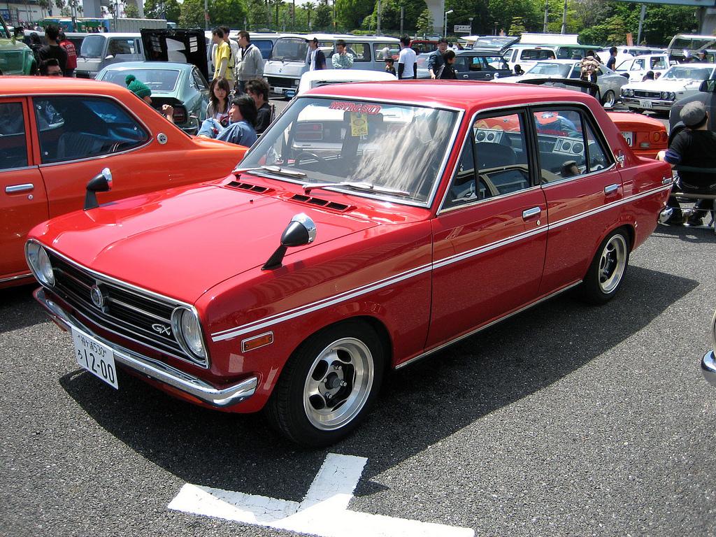 Curbside Classic 1972 Datsun 1200 Two Door Sedan Size Xs
