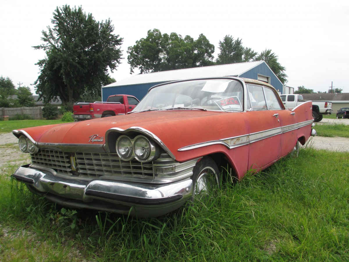 Curbside Classic 1959 Plymouth Fury Hijacked