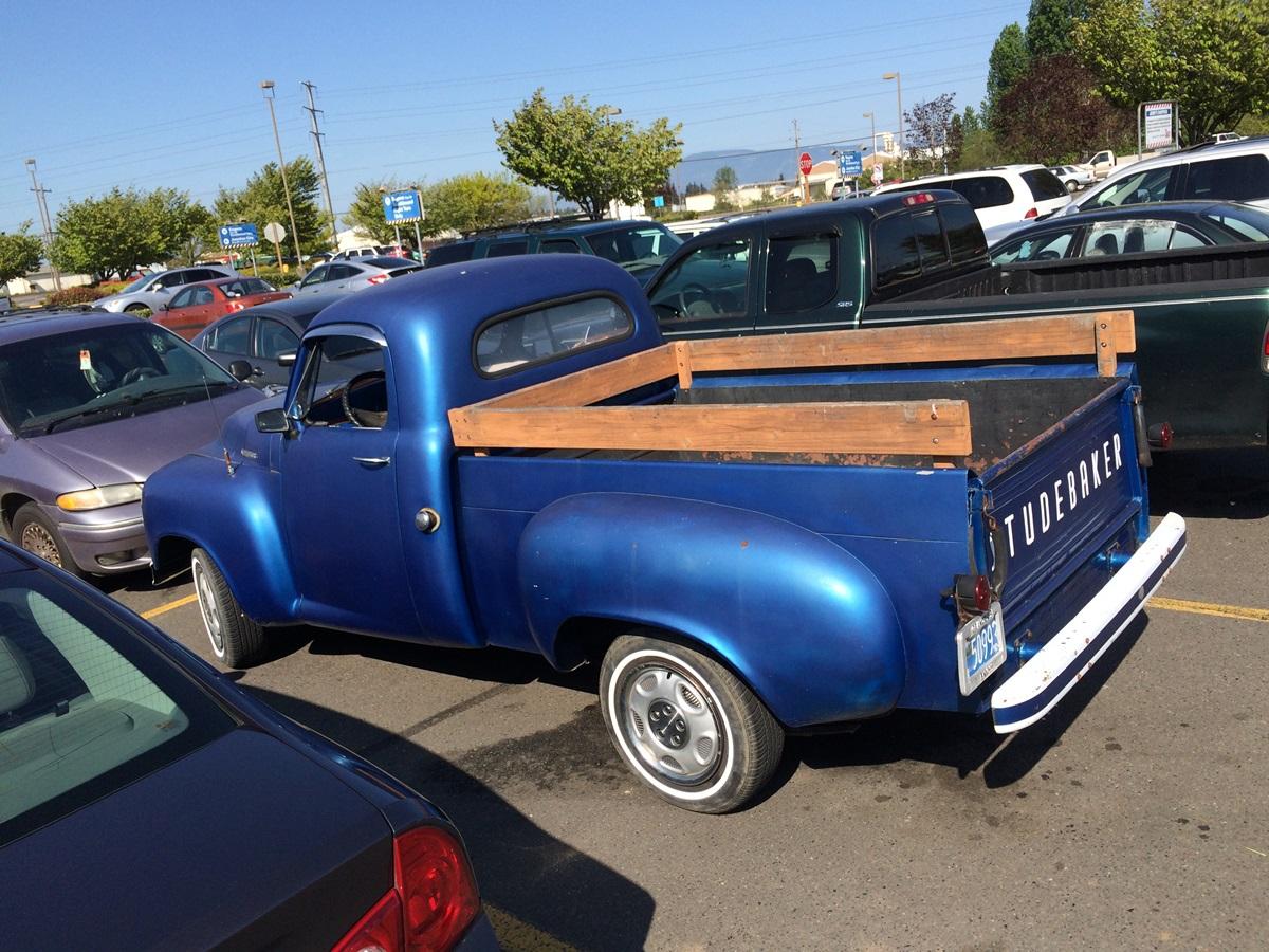 Studebaker Truck Fenders : Auto biography cc outtake studebaker r series pickup