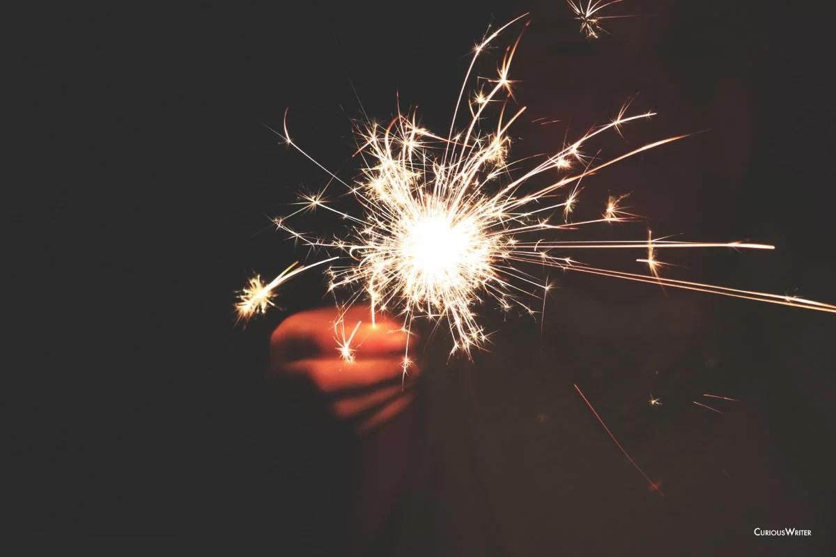 Fourth of july sparkler photo 2
