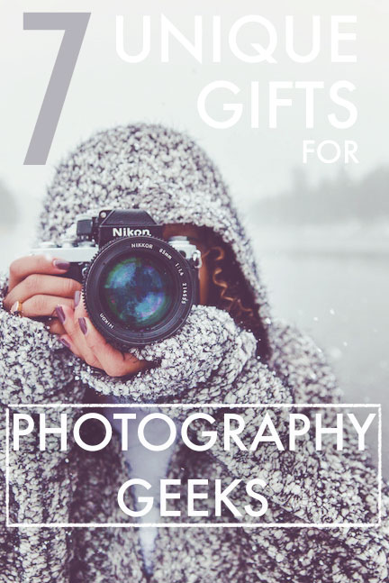 7 unique gifts for photography geeks - or anyone really