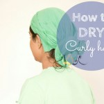 How to dry curly hair