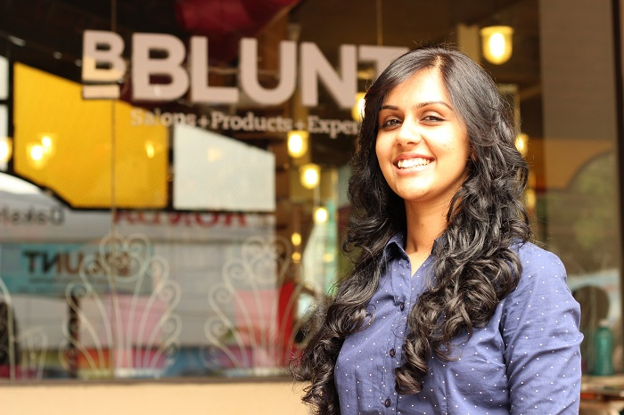 My curly haircut at bblunt bangalore curlsandbeautydiary for B blunt salon price list