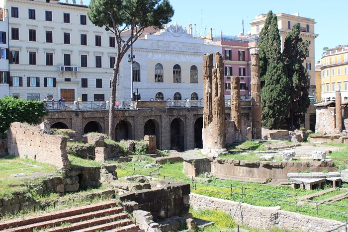 largo di torre argentina - theatre of pompey (2)