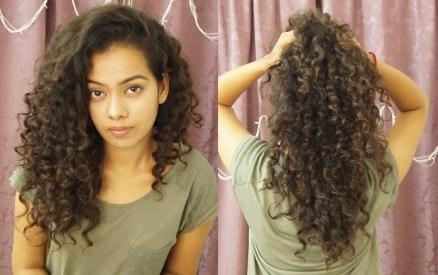 Curly Hair Routine By Blogger Pooja Pradeep Curlsandbeautydiary