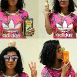 Curly hair routine by blogger Pooja Pradeep