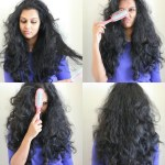 Why you shouldn't brush or comb curly hair after it is dry
