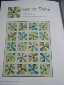Rain or Shine pattern