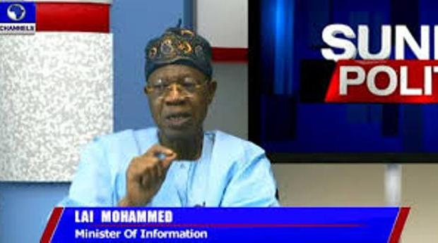 lai mohammed on channels tv
