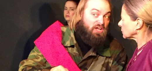 John Mortell plays Macbeth, while Indianapolis native Sally Carter plays her role of Lady Macbeth. (Submitted photo)