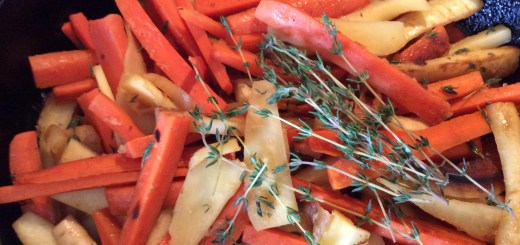 "A recipe from ""The Nourished Kitchen"" for root vegetables is a great side dish for any holiday meal. (Photo by Ceci Martinez)"