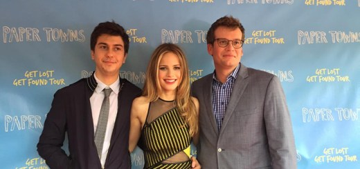 """'Where's Amy?"""" was on the red carpet representing Current Publications and hanging out with """"Paper Towns,"""" Nat Wolff, Halston Sage and John Green. The film is playing now across the Country and is already a huge hit."""