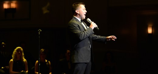 Songbook finalist, and winner of the competition, Lucas Debard, of Lebanon, Ind. sings.