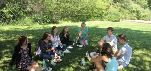 New students of ZCHS enjoy a picnic with student peers last Friday. Every year ZCHS offers new students the opportunity to meet other new students along with ZCHS student peers.