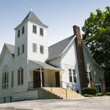 Nearly two centuries have passed, and Salem UMC is still a Zionsville architectural stabpe. (Submitted photos)