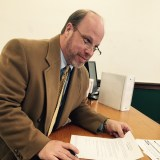 Andrew Auersch files to run for Zionsville Town Council District 4 on Feb. 5 at the Boone County clerk's office. (Submitted Photo)