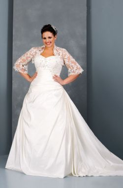 Small Of Wedding Dress Plus Size
