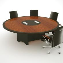 SWH 8′ round conference table