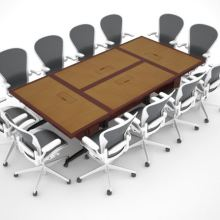 St. Jude Folding Modular Conference Table