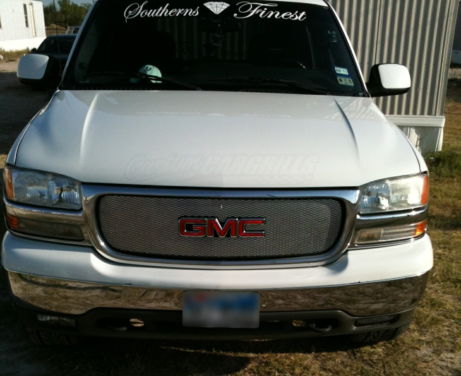 1999 02 GMC Full Size   00 04 Yukon Mesh Grill Insert kit by     Customer Pictures