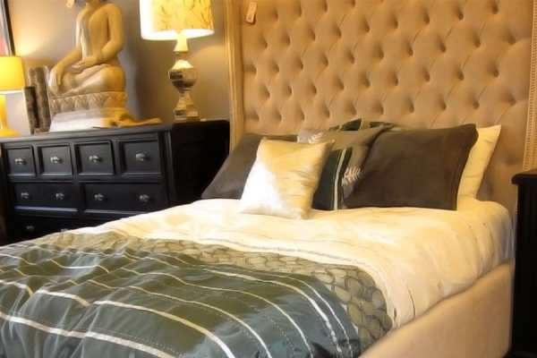 BED HEADBOARD UPHOLSTERY BY WM UPHOLSTERY