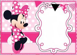 Small Of Minnie Mouse Birthday Invitations