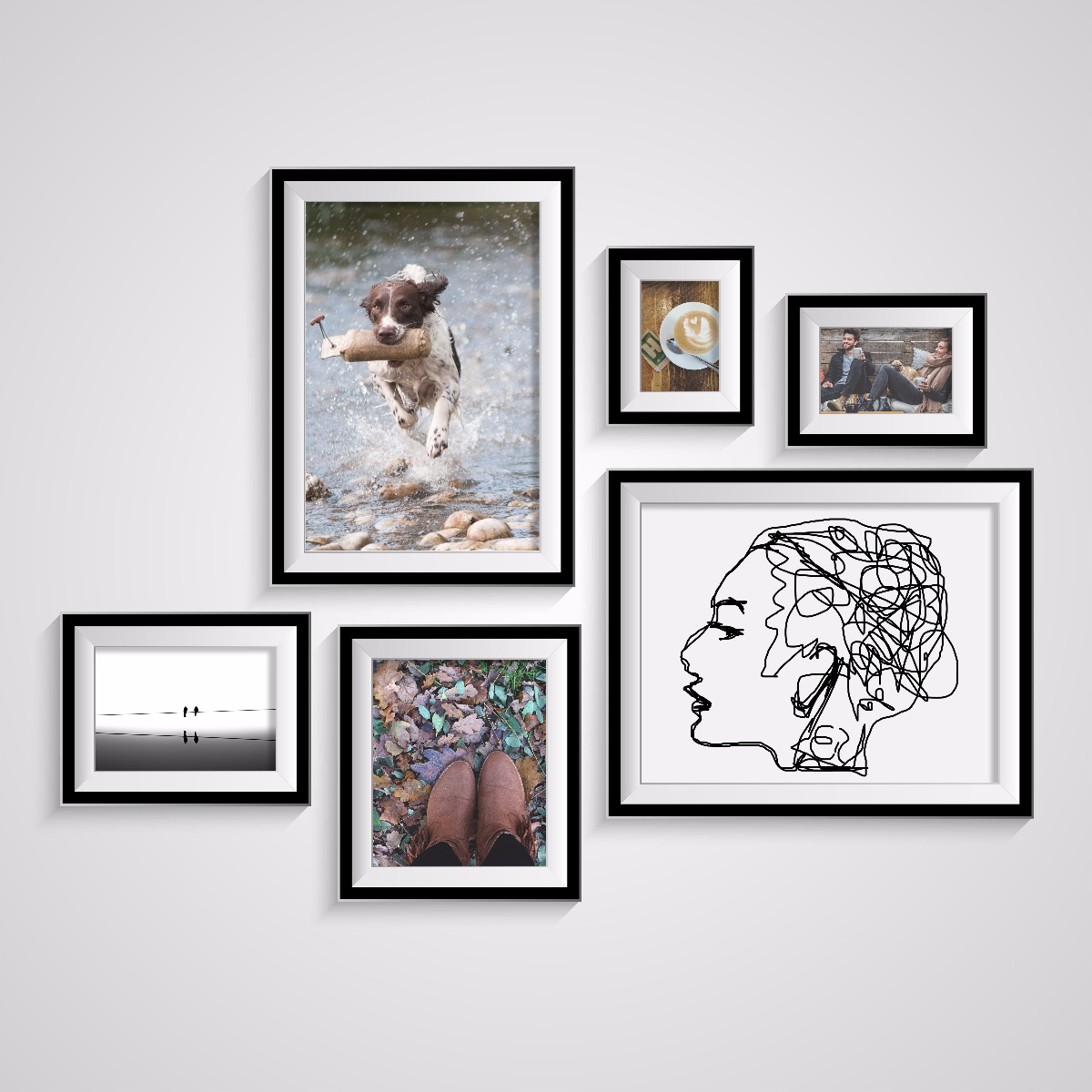 Calm Yourhome Or Our Large Inventory Frames Is Sure To Have Frames Custom Frames Our Frames Are Just Size To Start A Gallery Wall photos 8 X 10 Frames