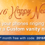 Get Your Phones Ringing in the New Year with a Custom Vanity Number
