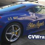 Blue Angels Car Wrap