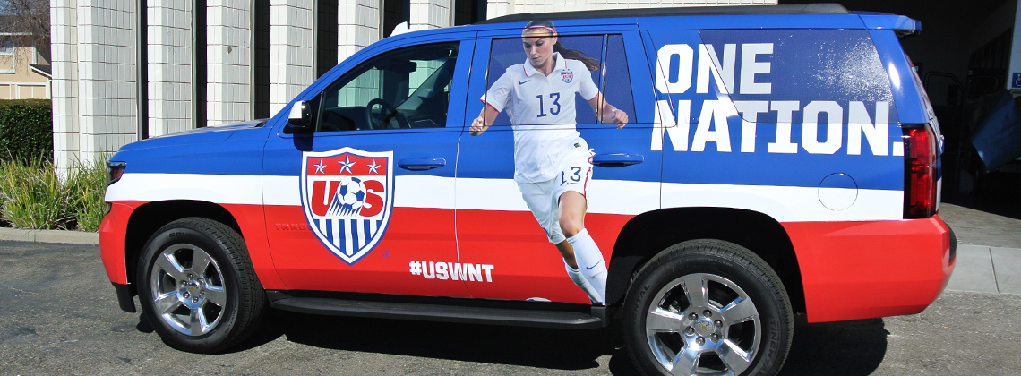 One Nation Car Wrap