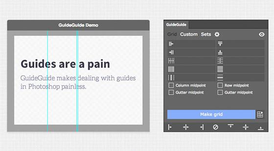 tela de apresentação da extensão guide guide