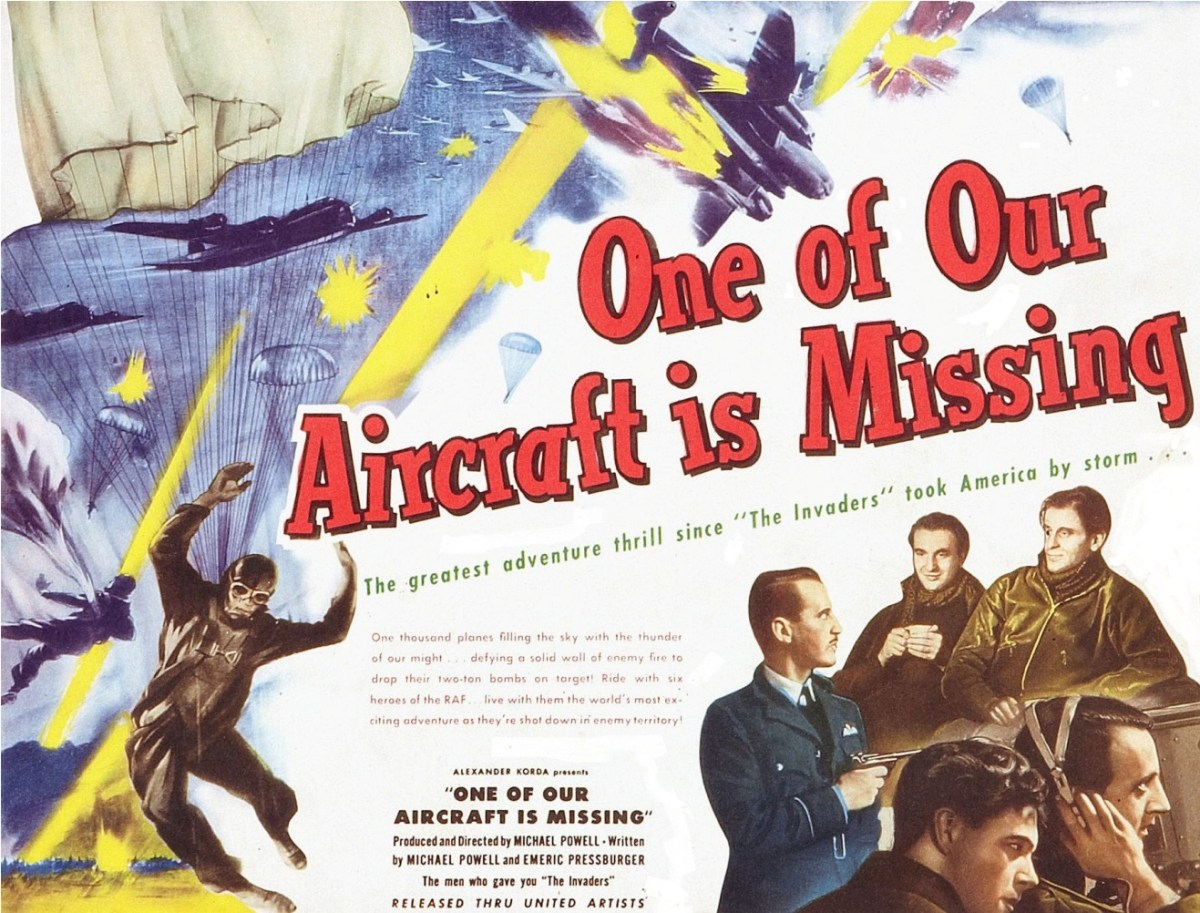 one-of-our-aircraft-is-missing-united-artists-1942-title-lobby-card