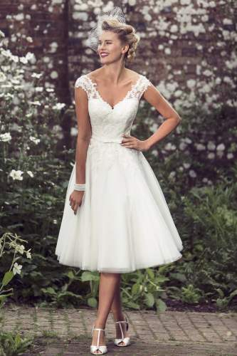 tea length plus size wedding dresses for your vintage look wedding dresses tea length