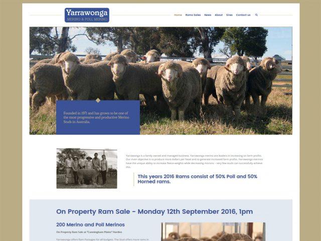 Website Designers Howlong - Yarrawonga Merino