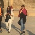 gaya hijab perempuan Iran cantik