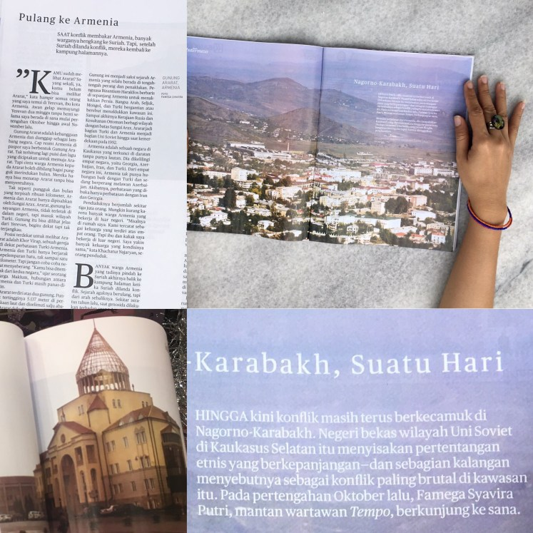 nagorno karabakh dan armenia