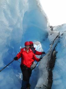 Hiking the Mendenhall Glacier