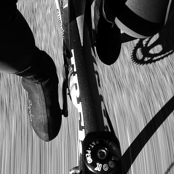 Rapha Overshoes Action Shot | Cycleboredom