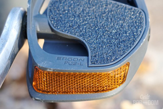Cycleboredom   What I'm Riding: Ergon PC2 Pedals - Reflector