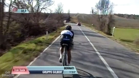 Cycleboredom | Screencap Recap: Montepaschi Strade Bianchi - Just Bennati