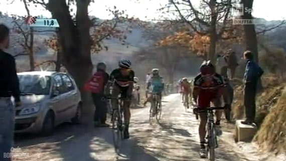 Cycleboredom | Screencap Recap: Montepaschi Strade Bianchi - Fabs Attack