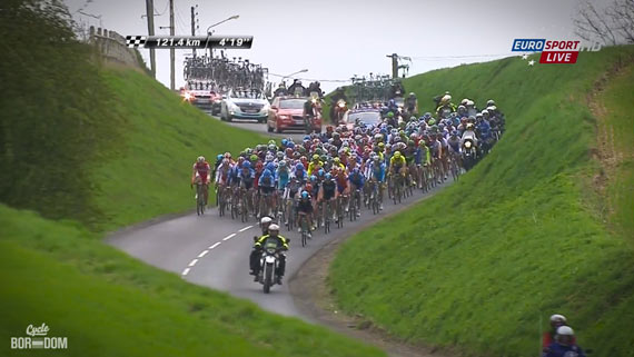 Cycleboredom | Screencap Recap: Paris-Roubaix - Moar Lovely Pelo
