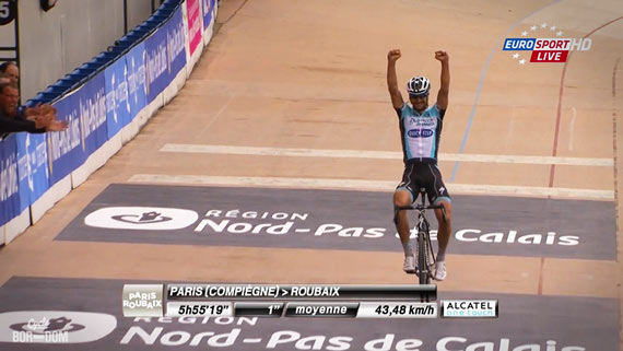 Cycleboredom | Screencap Recap: Paris-Roubaix - Overwinnings