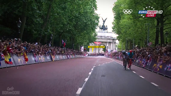Cycleboredom | Screencap Recap: Men's Olympic Road Race - Chasing Group