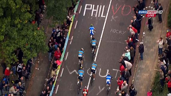 Cycleboredom | Screencap Recap: #Limburg2012 - Nibz Vs Belgium
