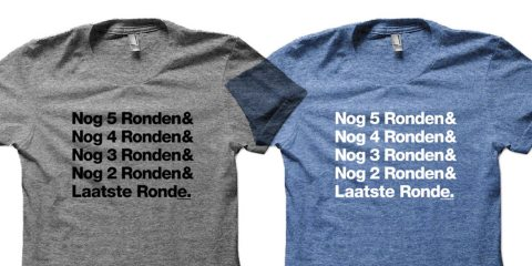SOB: Cycleboredom Nog Ronden Countdown T-Shirt
