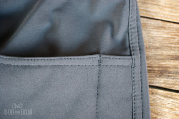 What I'm Riding: swrve Softshell Trousers | Cycleboredom - Pockets